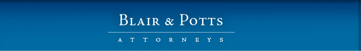 Blair & Potts | Attorneys